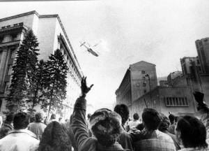 Fuga cuplului Ceausescu