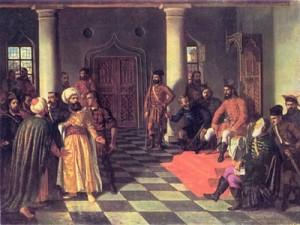 Vlad Tepes si solii turci - Theodor Aman