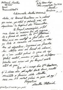 Scrisoarea Martei Hellreich