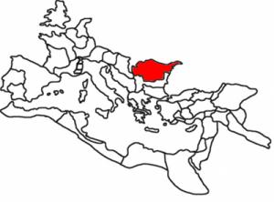 Imperiul Roman in jurul anului 120 d.Hr.