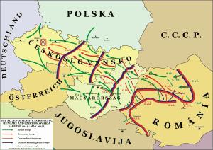 Fortele romane pe frontul de vest