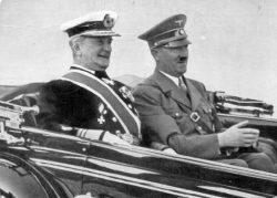 Miklos Horthy si Adolf Hitler