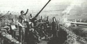 Baterie antiaeriana produsa de Skoda