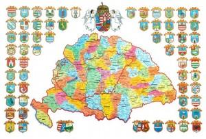 Harta Ungaria mare