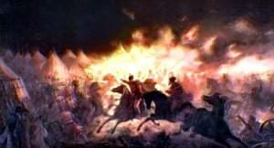 Atacul de noapte - Theodor Aman