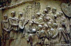 Columna lui Traian - detaliu