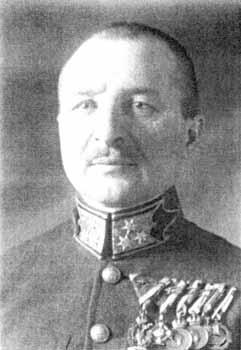 Henrik Werth - Comandantul Armatei Hortyste