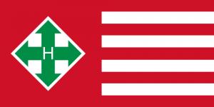 Simbolurile partidului Crucea cu sageti