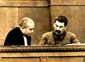 Hrusciov si Stalin