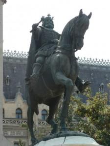 Statuia ecvestra a lui Stefan cel Mare