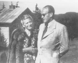 Emilie si Oskar Schindler in 1946