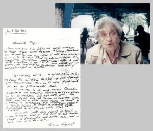 Elena Gorgonet si depozitia sa din 2001