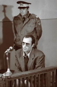 Nicu Ceausescu in timpul procesului