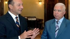 Traian Basescu si Petru Lazaroiu