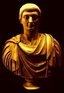 Bustul Imparatului Constantin cel Mare
