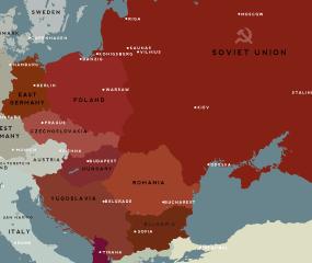 Harta de influenta a URSS