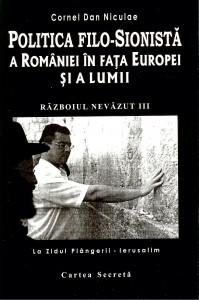 Coperta cărții Politica filosionistă a României