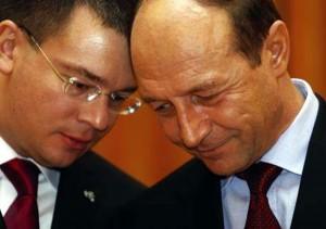 M.R. Ungureanu și Traian Băsescu