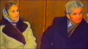Elena si Nicola Ceausescu in seara de 25 dec 1989